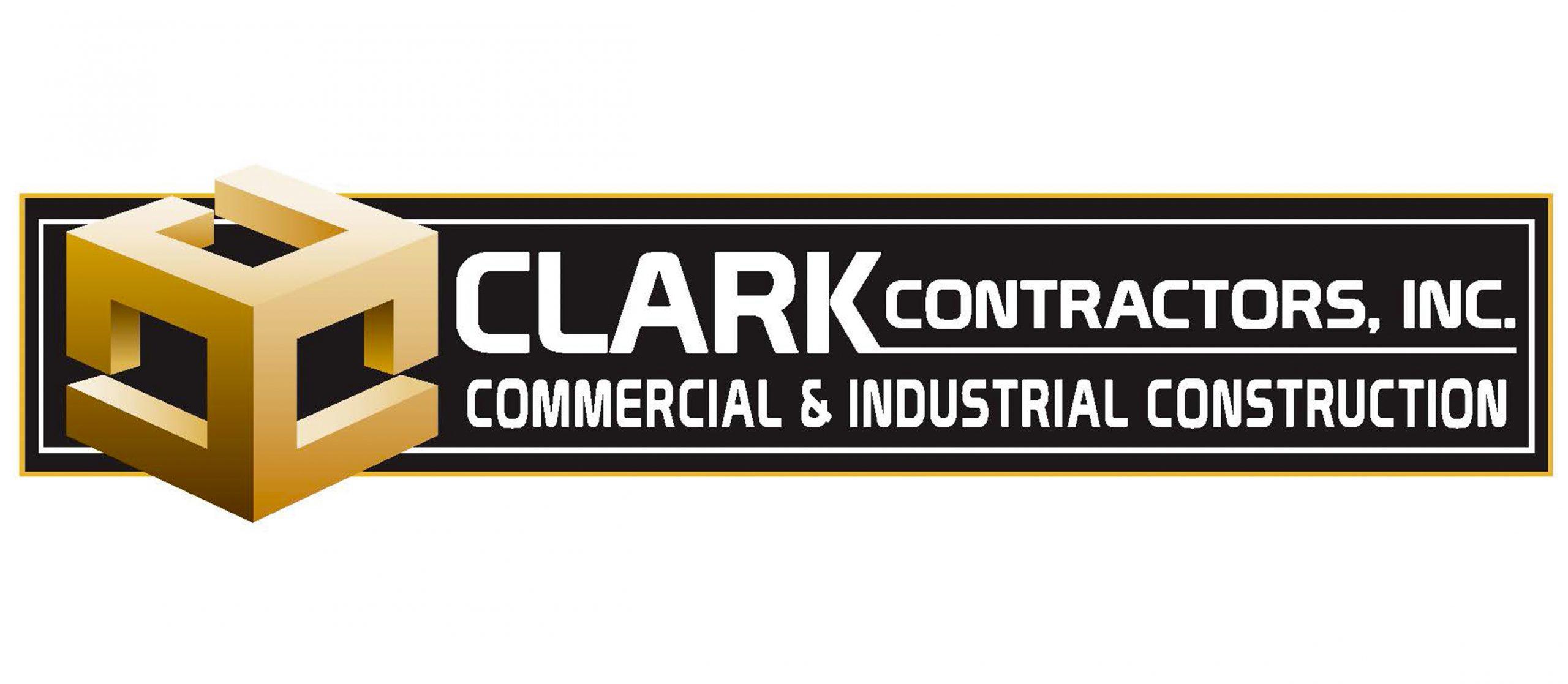 Clark Contractors Logo Homepage