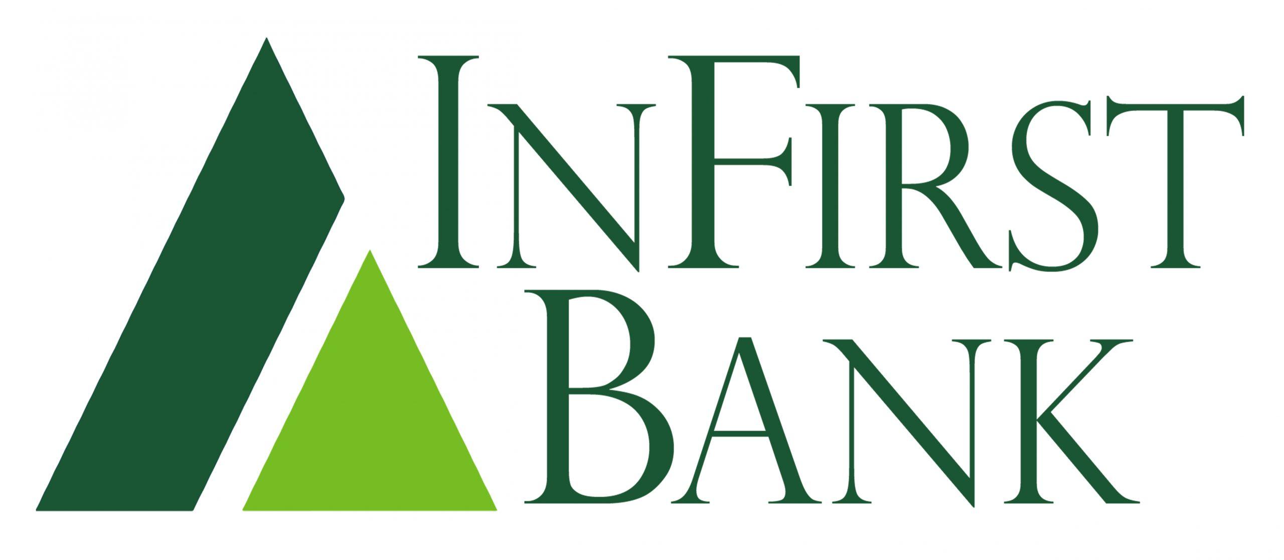 InFirst Bank Logo Homepage
